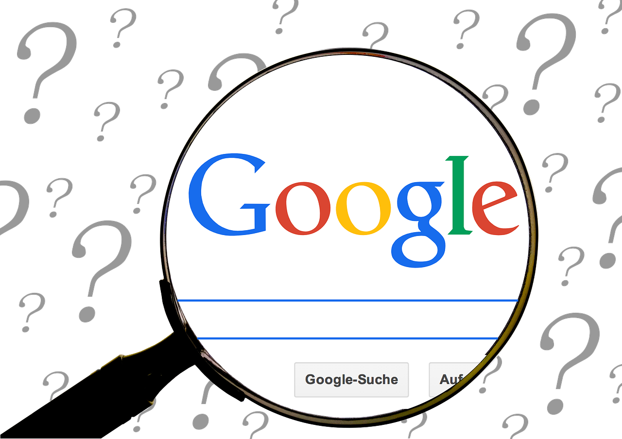 google question online search free photo