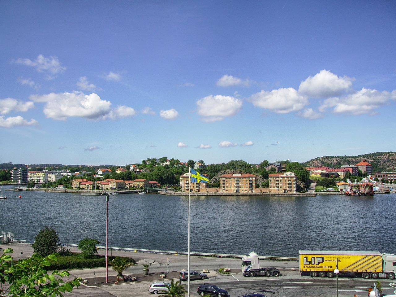 gothenburg sweden river free photo