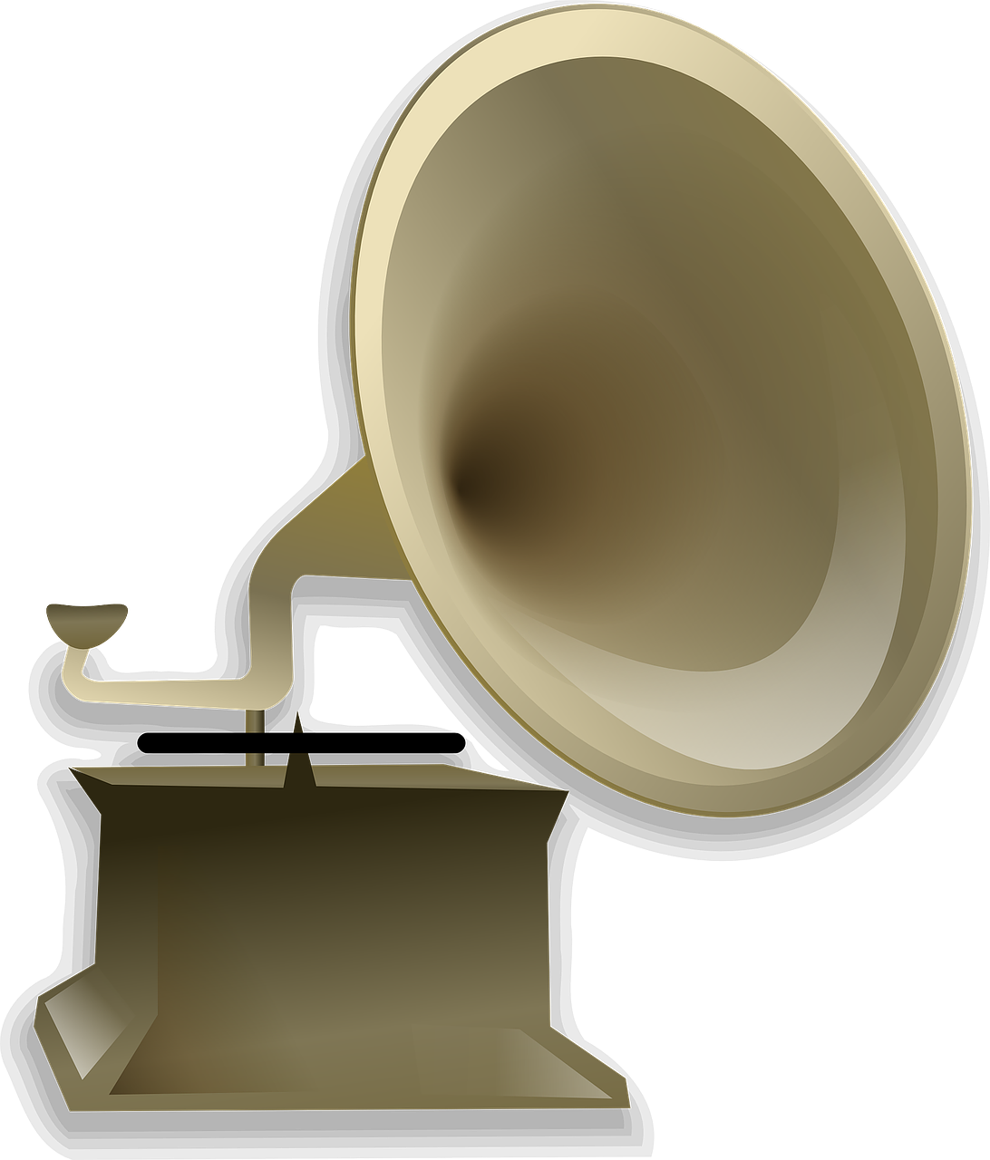 gramophone music antique free picture