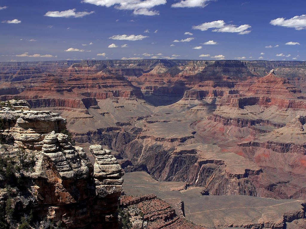grand canyon gorge arizona free photo
