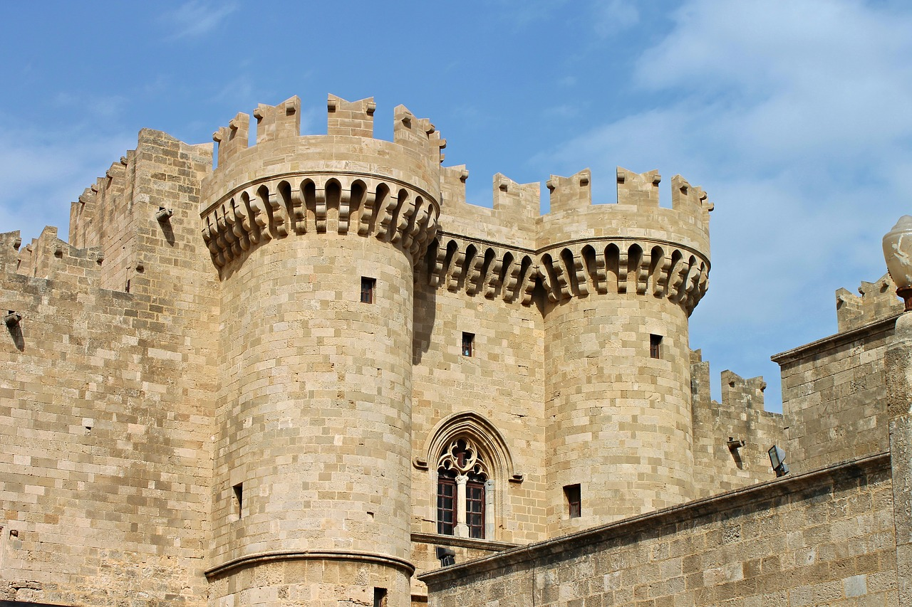 grand master's palace rhodes mandraki free photo