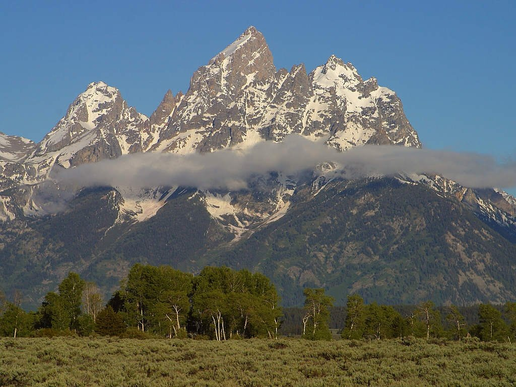 grand teton national park wyoming usa free picture