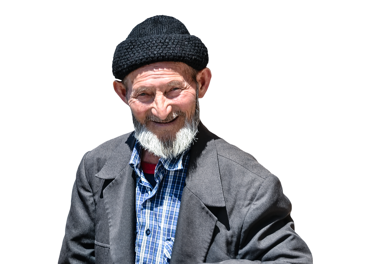 grandfather masked psd free picture