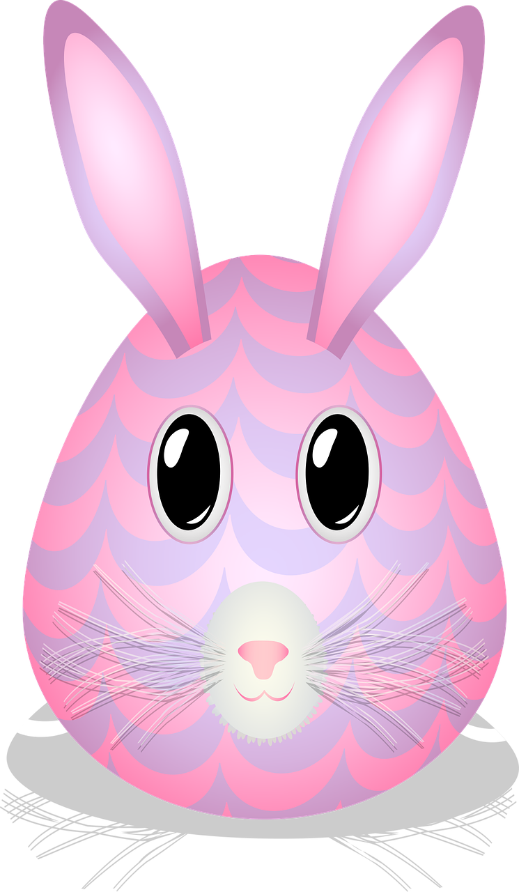graphic  easter egg  bunny free photo