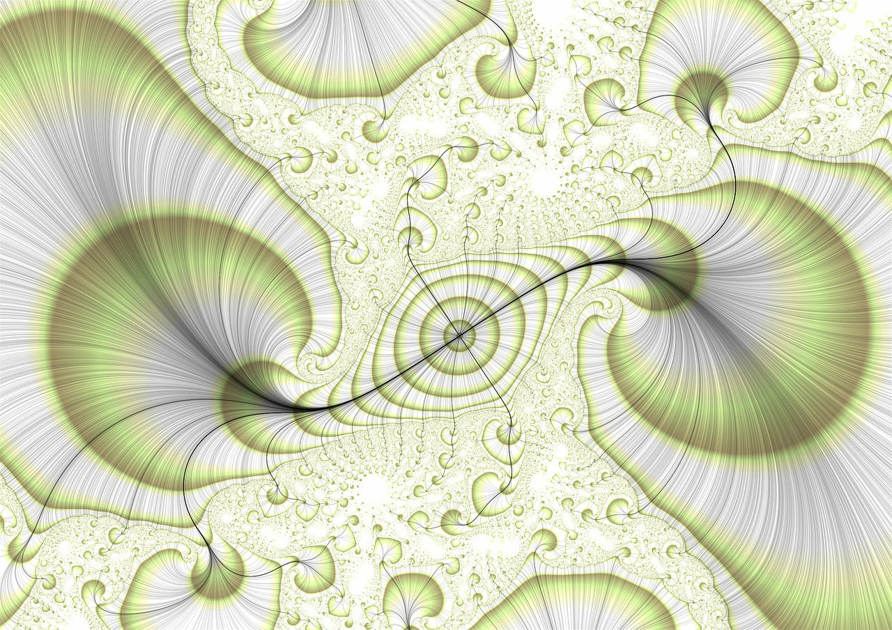 graphic fractal eddy free photo