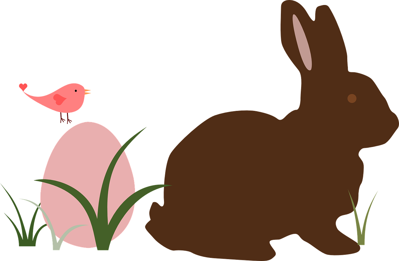grass,bird,easter,egg,bunny,rabbit,free vector graphics,free pictures, free photos, free images, royalty free, free illustrations, public domain