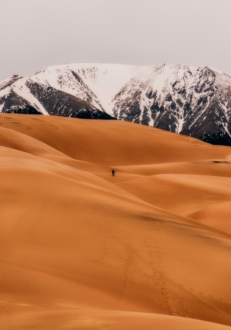 great sand dunes national park tourism free photo