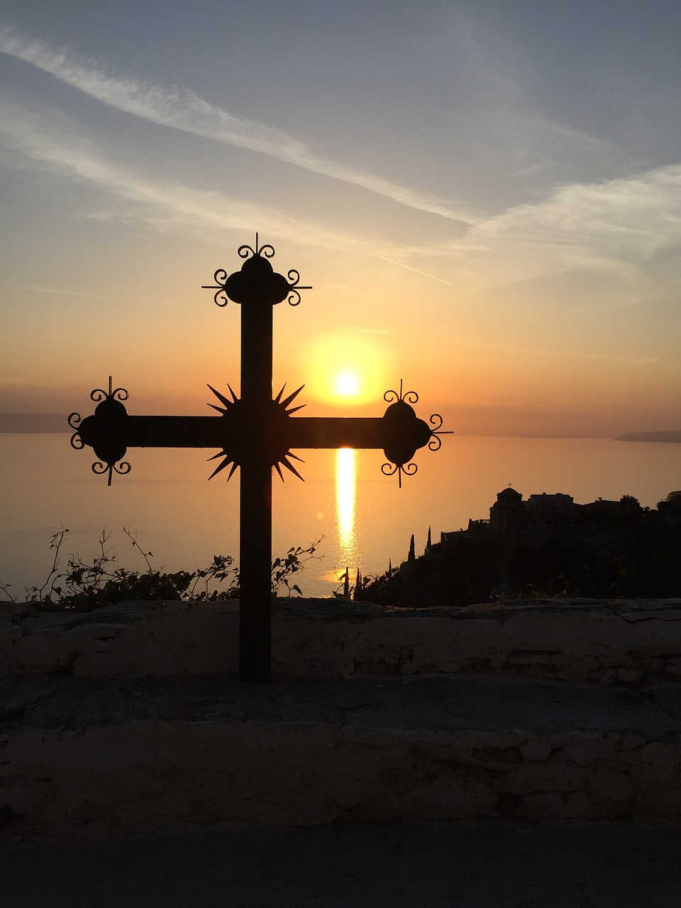 greece athos sunset free photo