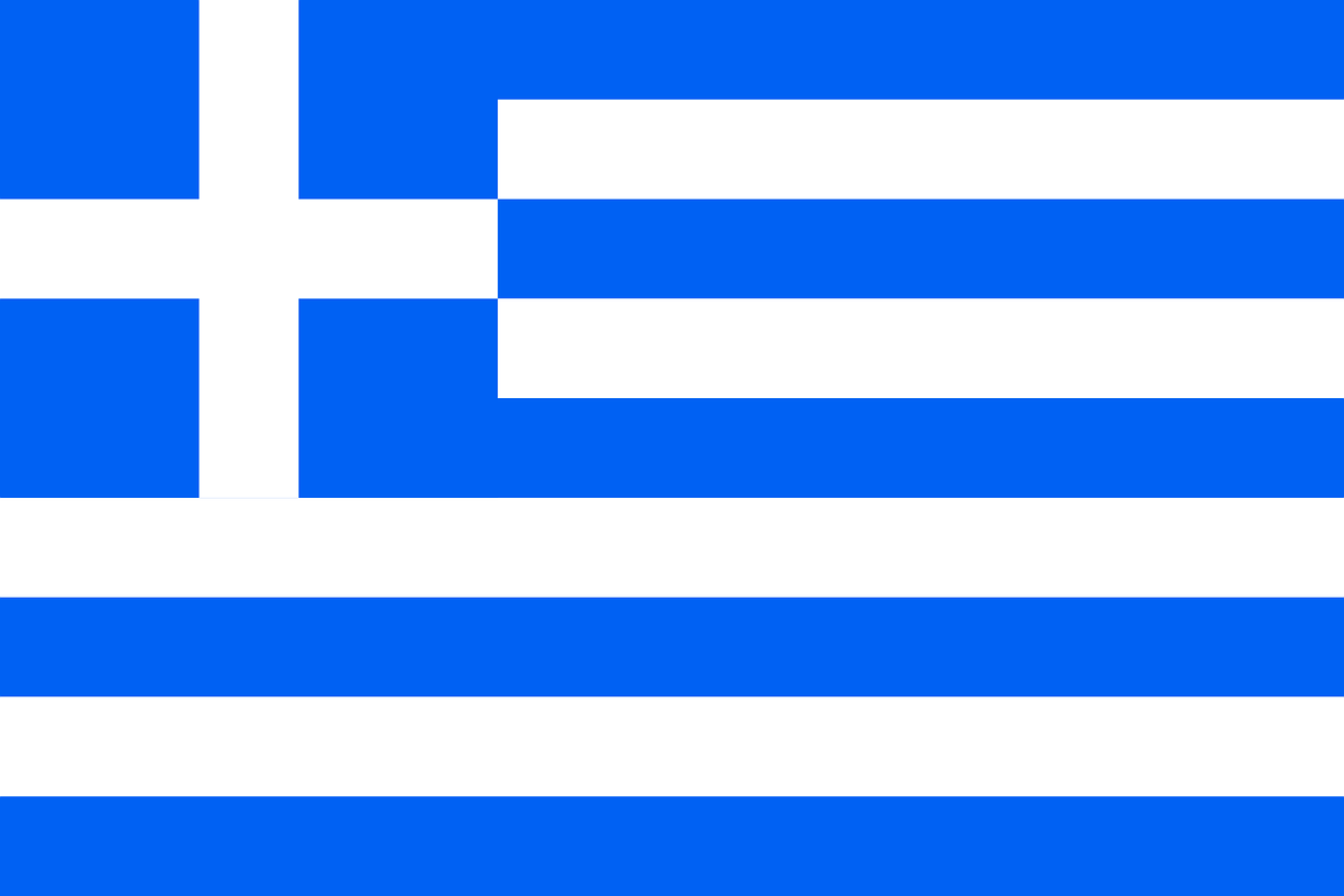 greece flag greek free photo
