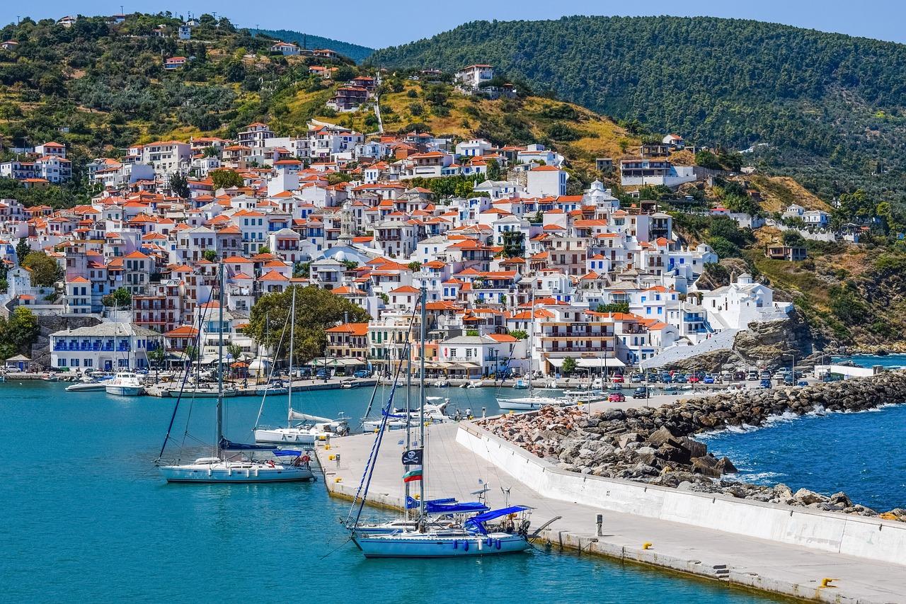 Greece Skopelos Island Greek Sporades Free Image From Needpix Com