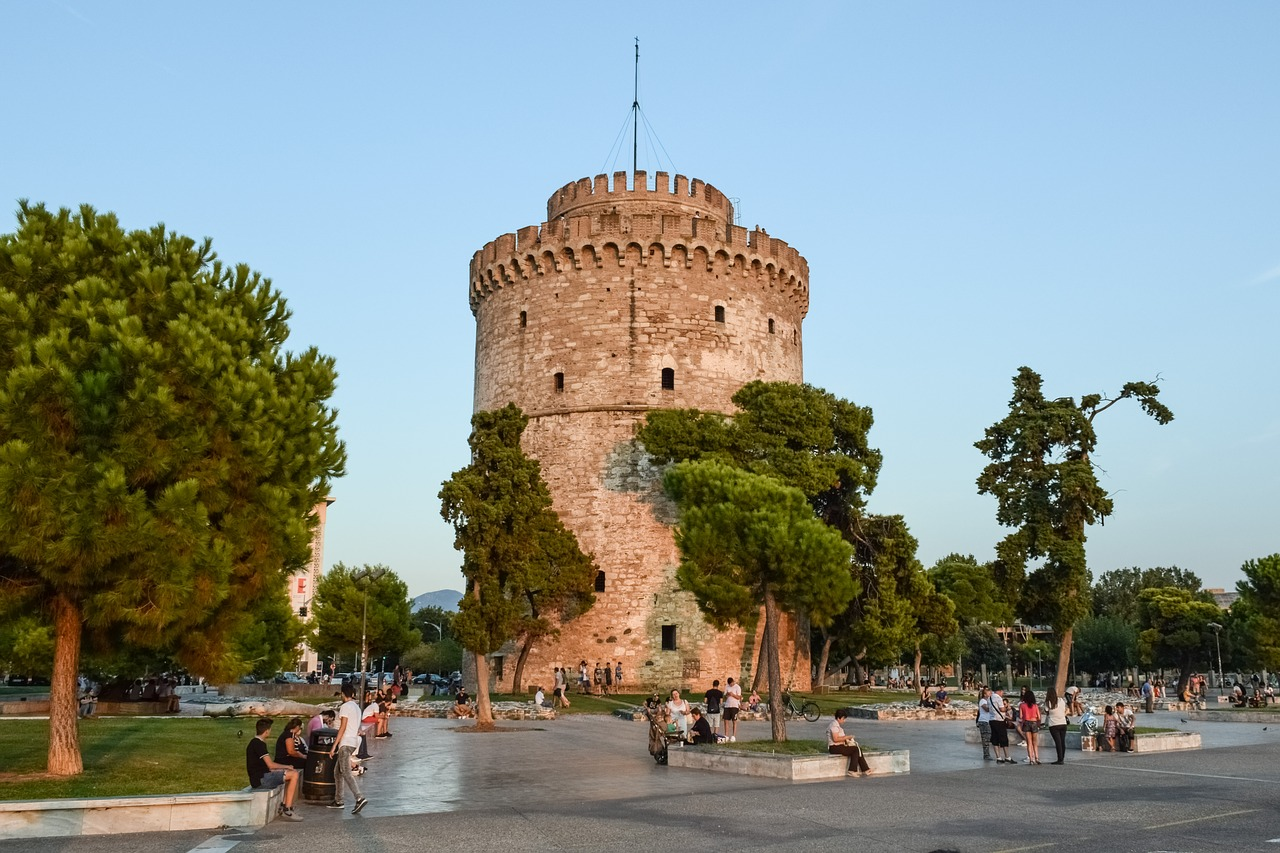 Walking tour in thessaloniki