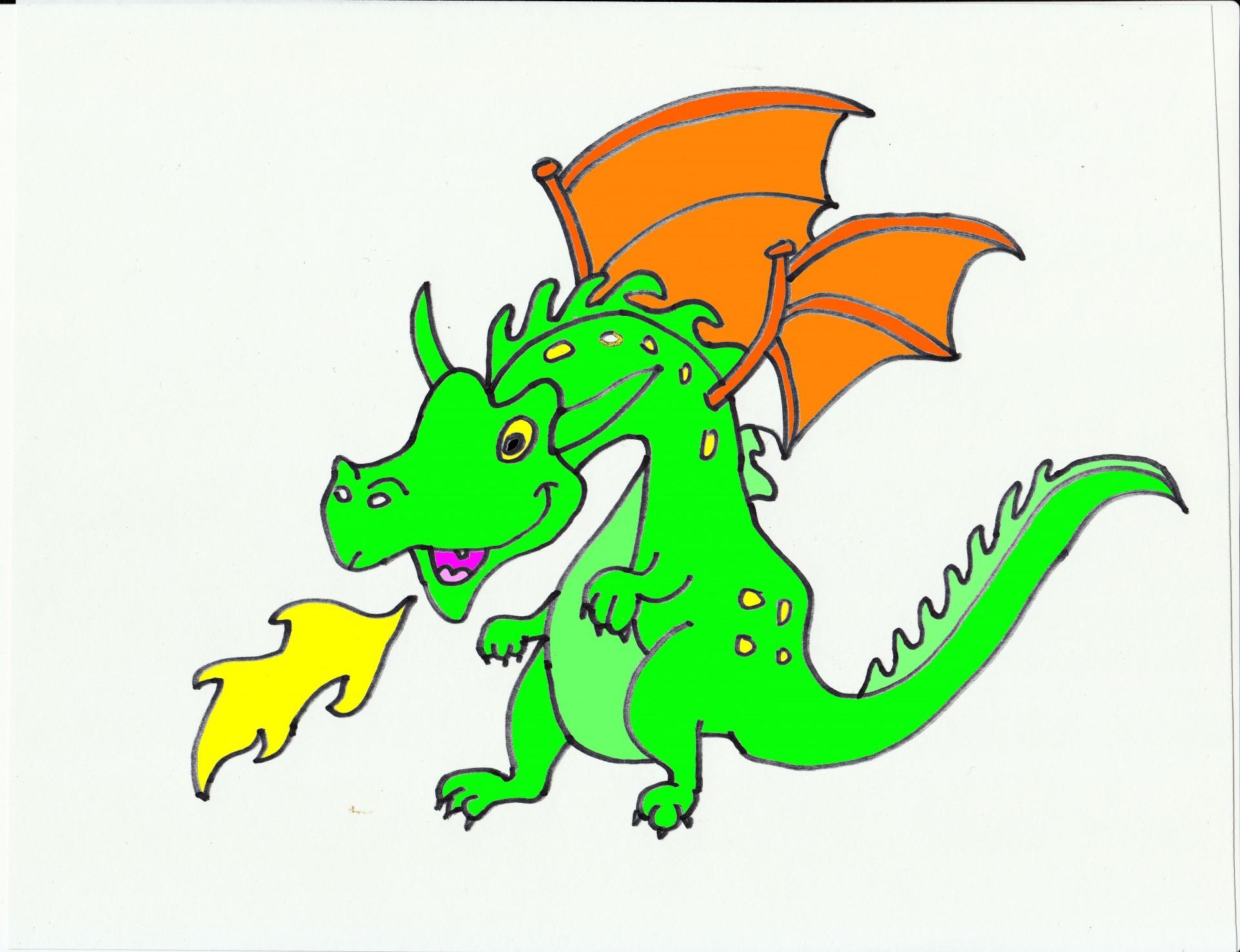 Открытка, дракон картинки для детей