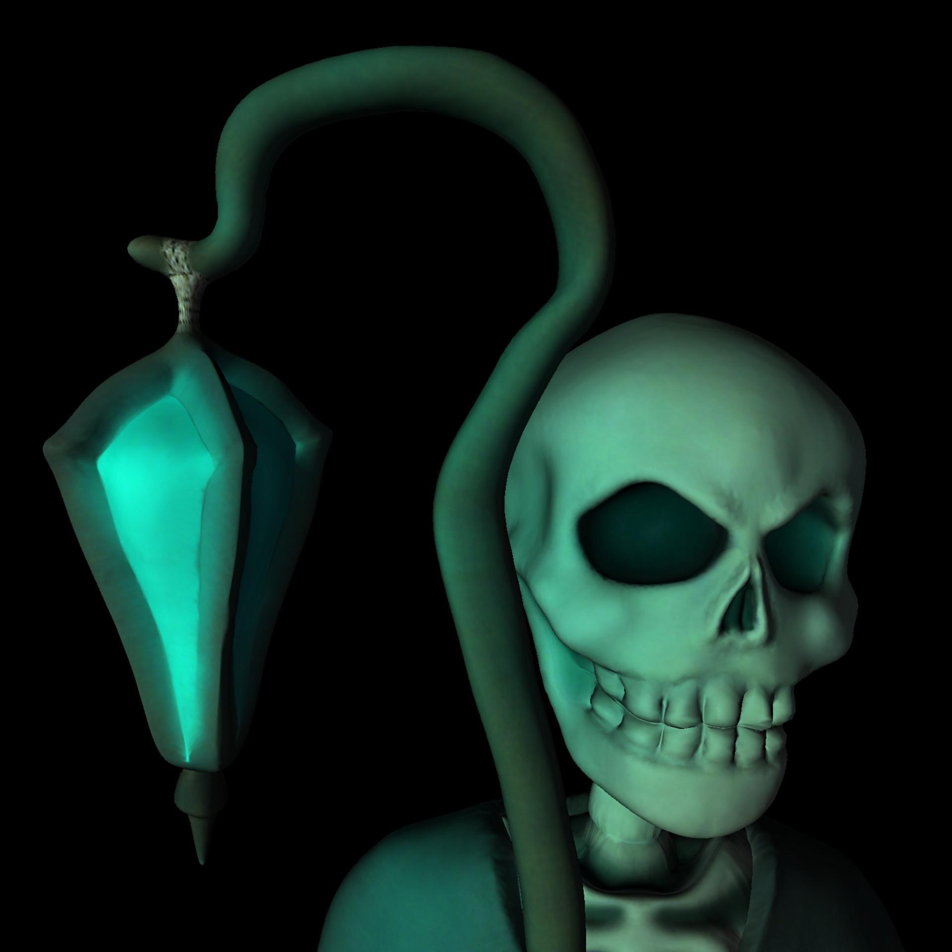 неоновые скелеты картинки