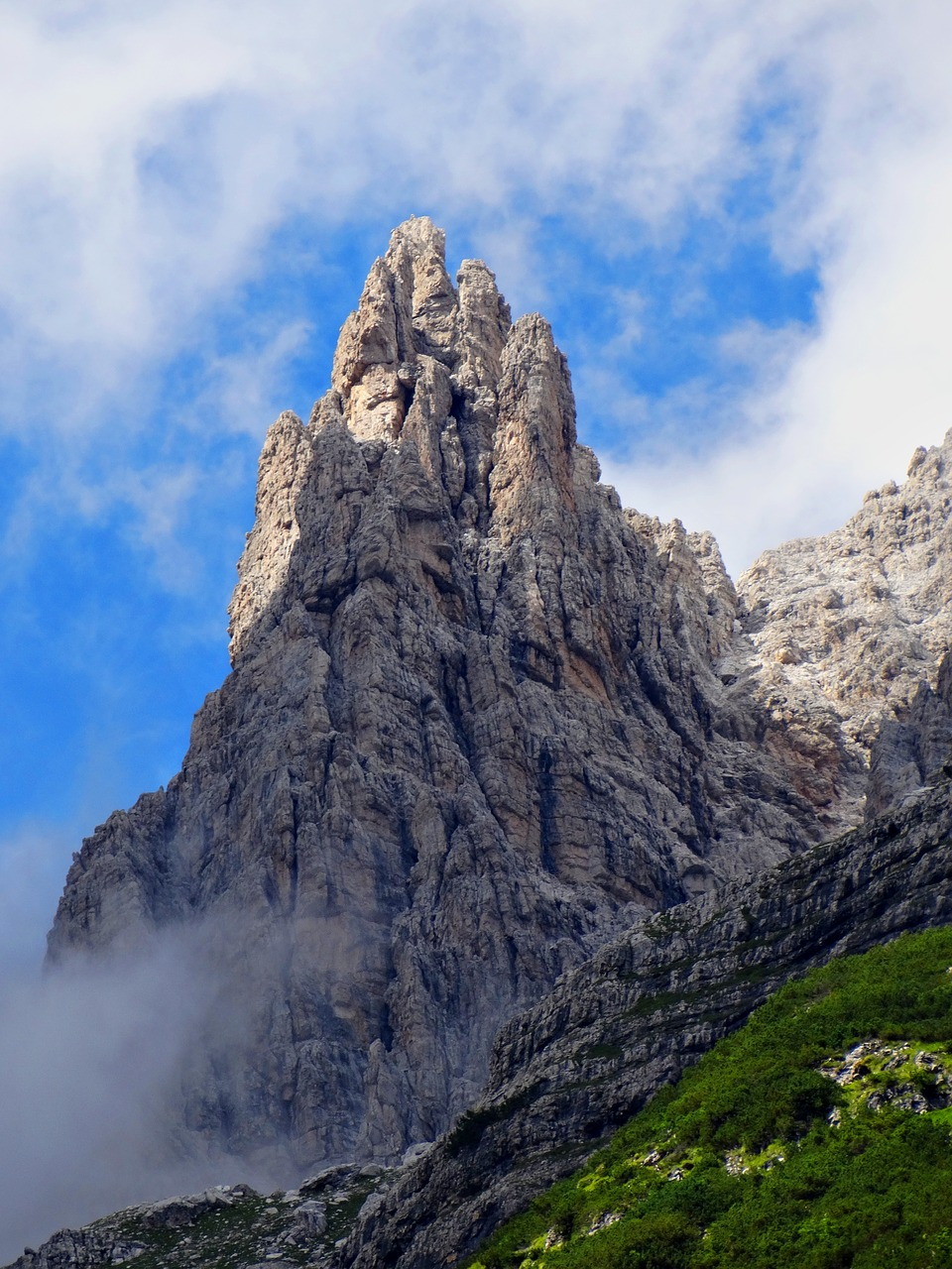 group of brenta mountain nature free picture