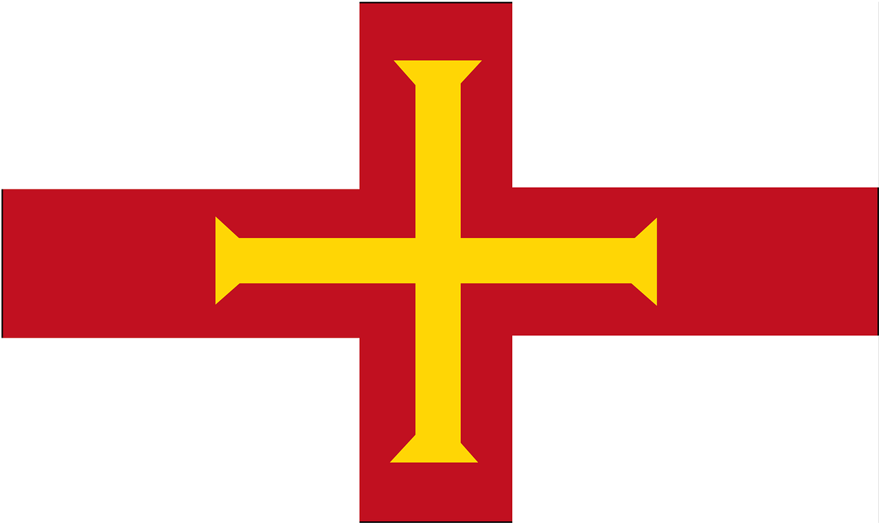 guernsey flag sign free photo