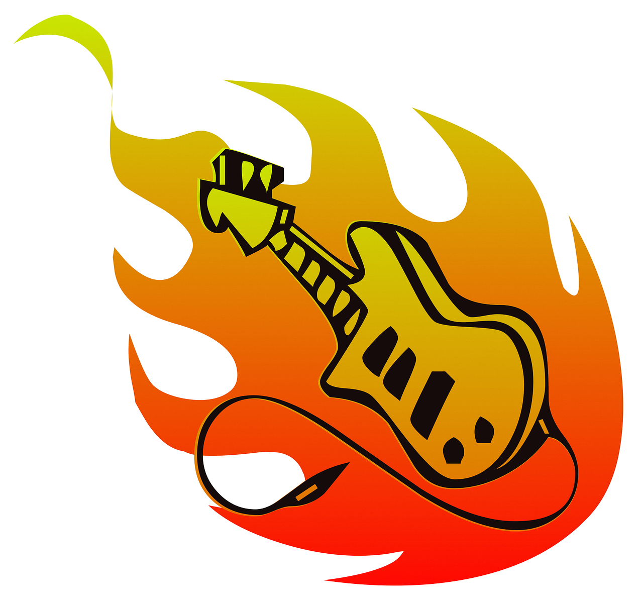 картинка рок картинки примеру, виде музыкального