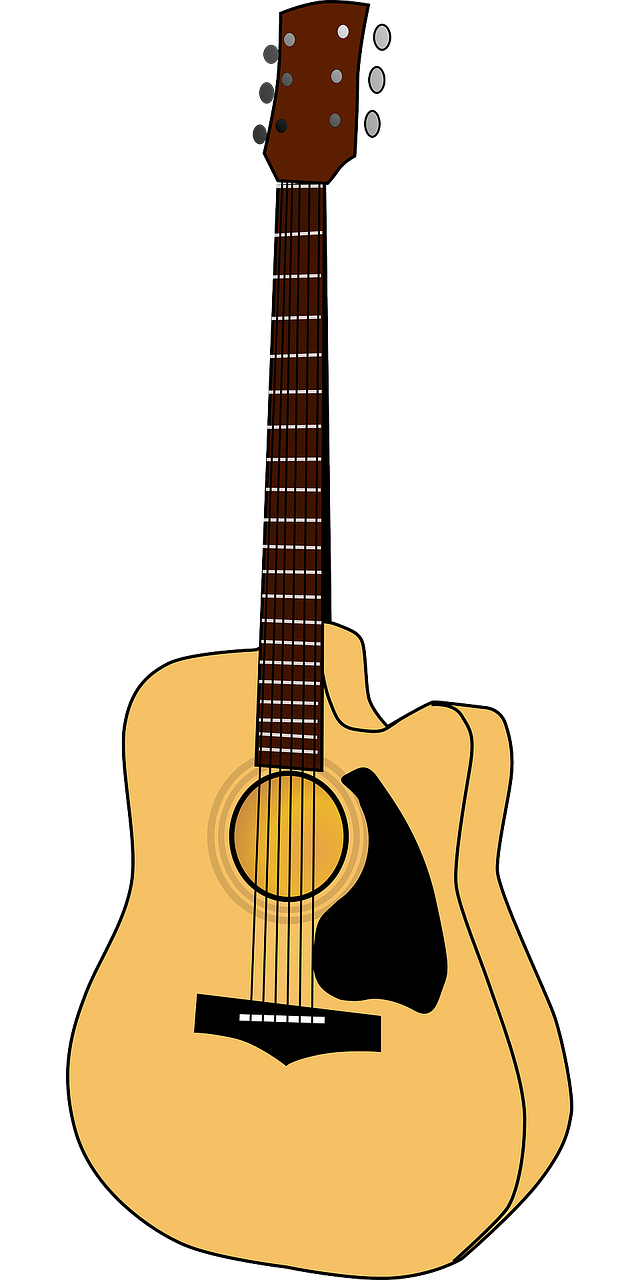guitar music instrument free photo
