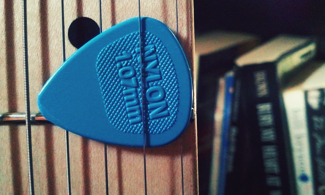 guitar strings pick free photo