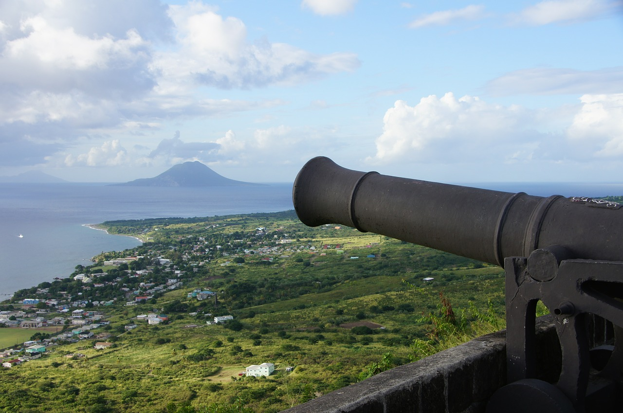 gun view caribbean free picture