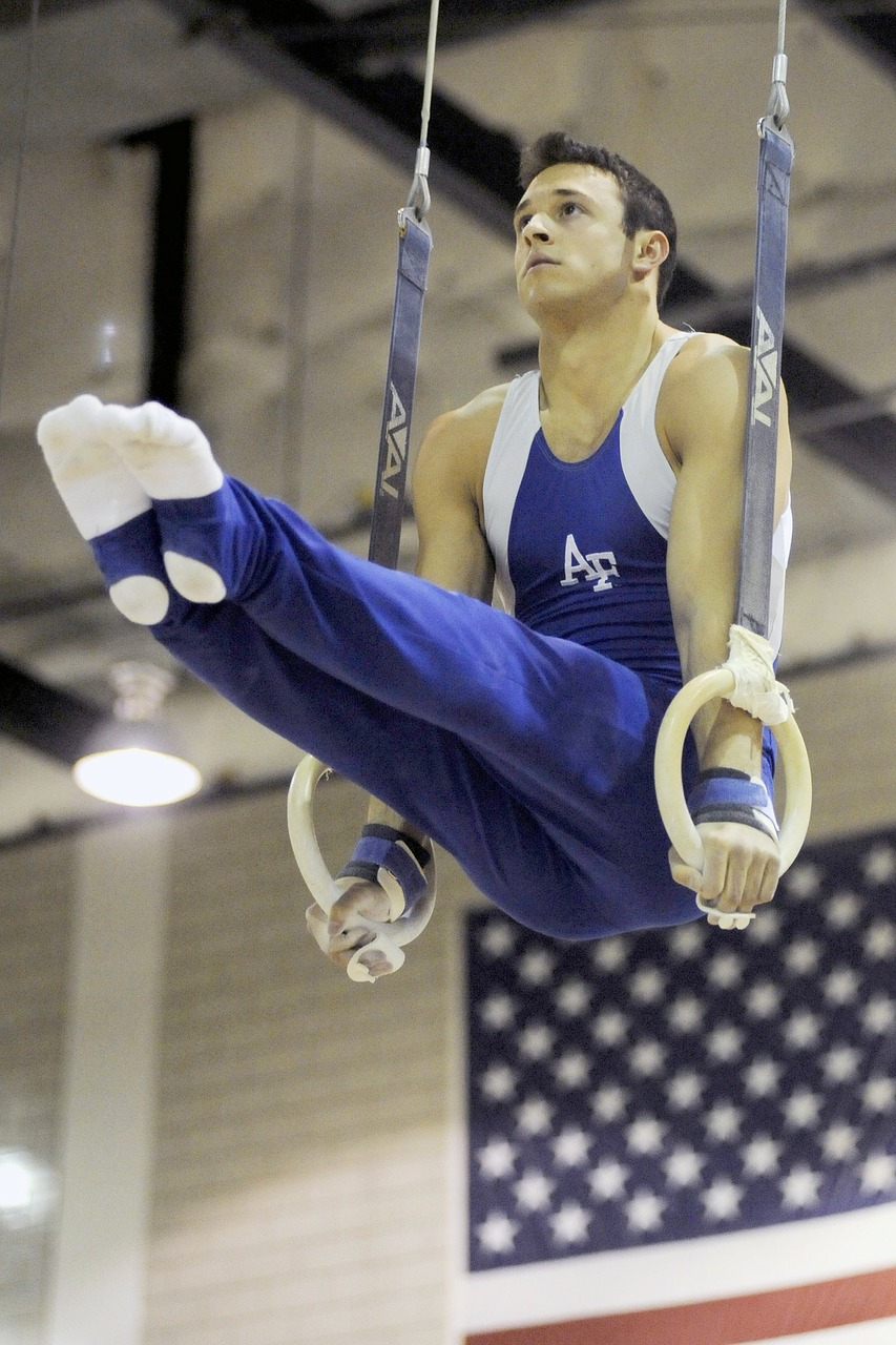 gymnastics gymnast man free photo