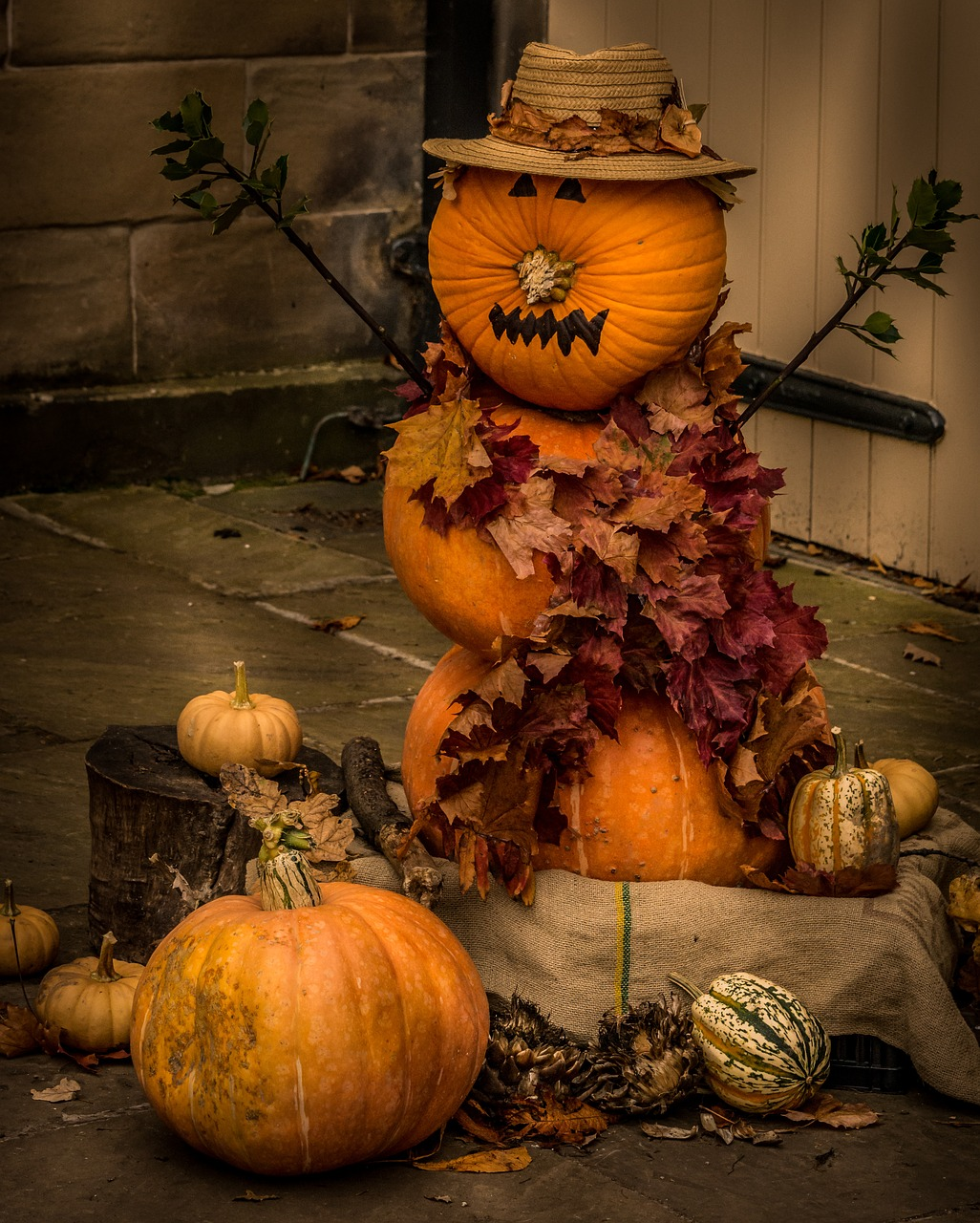 Dag Halloween.Halloween Seasonal Pumpkin Face Spooky Free Photo From