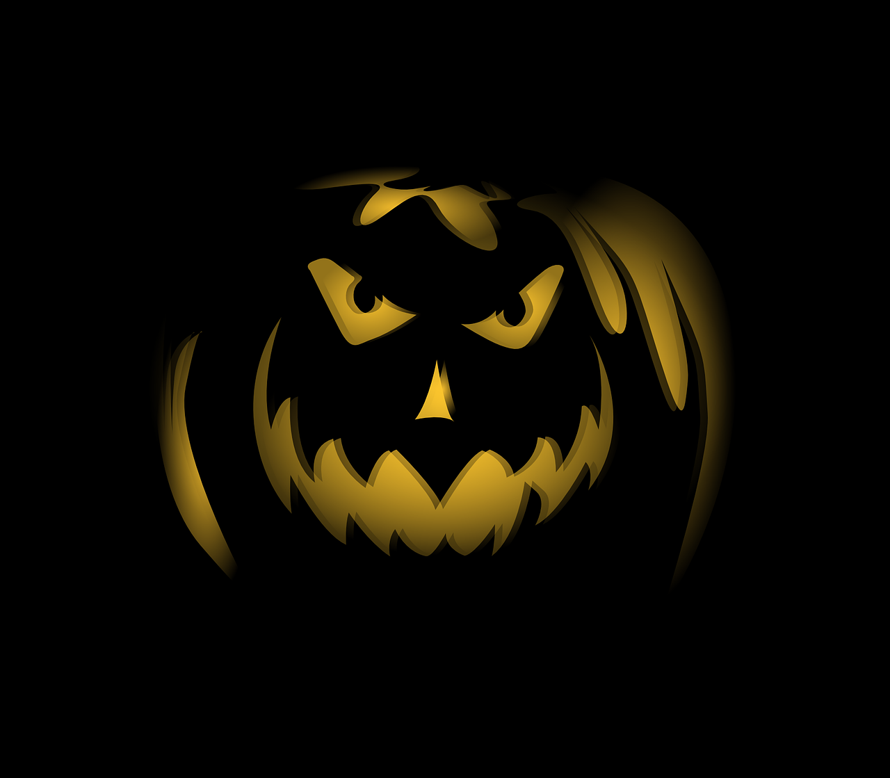 halloween,pumpkin,jack o lantern,spooky,carved,lit,night,grinning,scary,holiday,autumn,october,fall,seasonal,creepy,decor,traditional,free vector graphics,free pictures, free photos, free images, royalty free, free illustrations, public domain