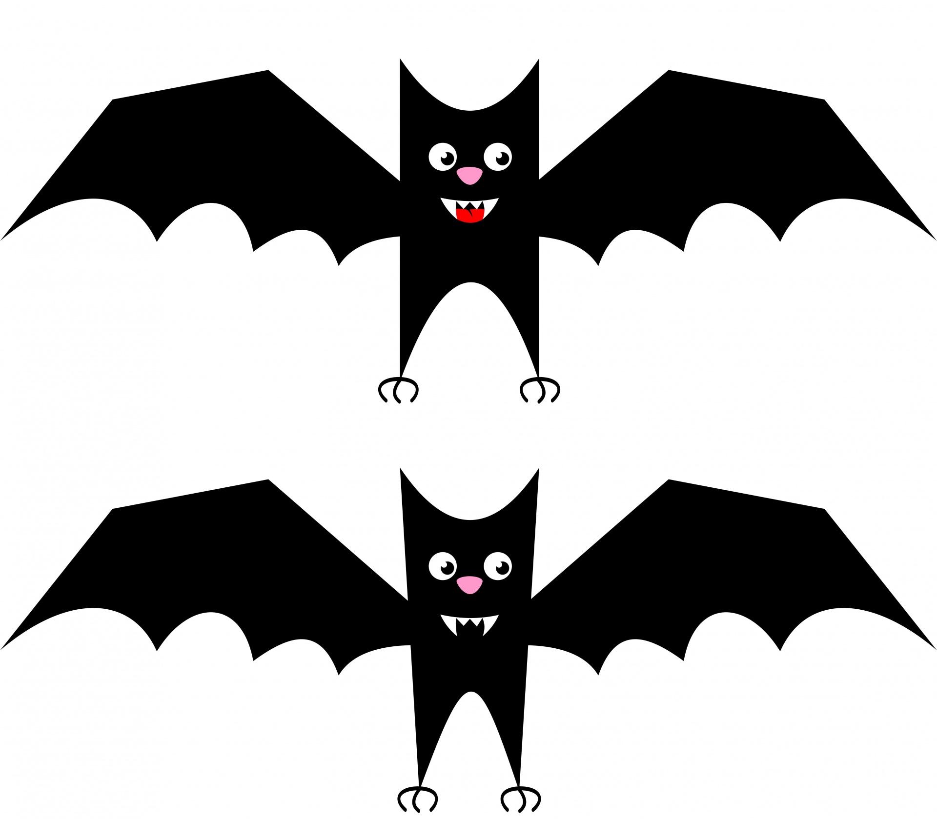 A Picture Of A Cartoon Bat bat,mammal,halloween,spooky,animal - free image from needpix