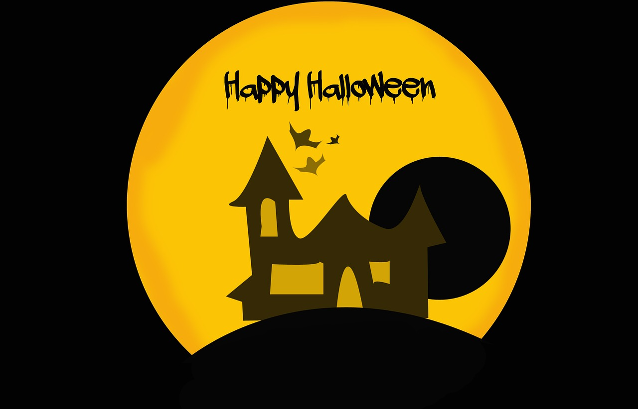 haloween background card free photo