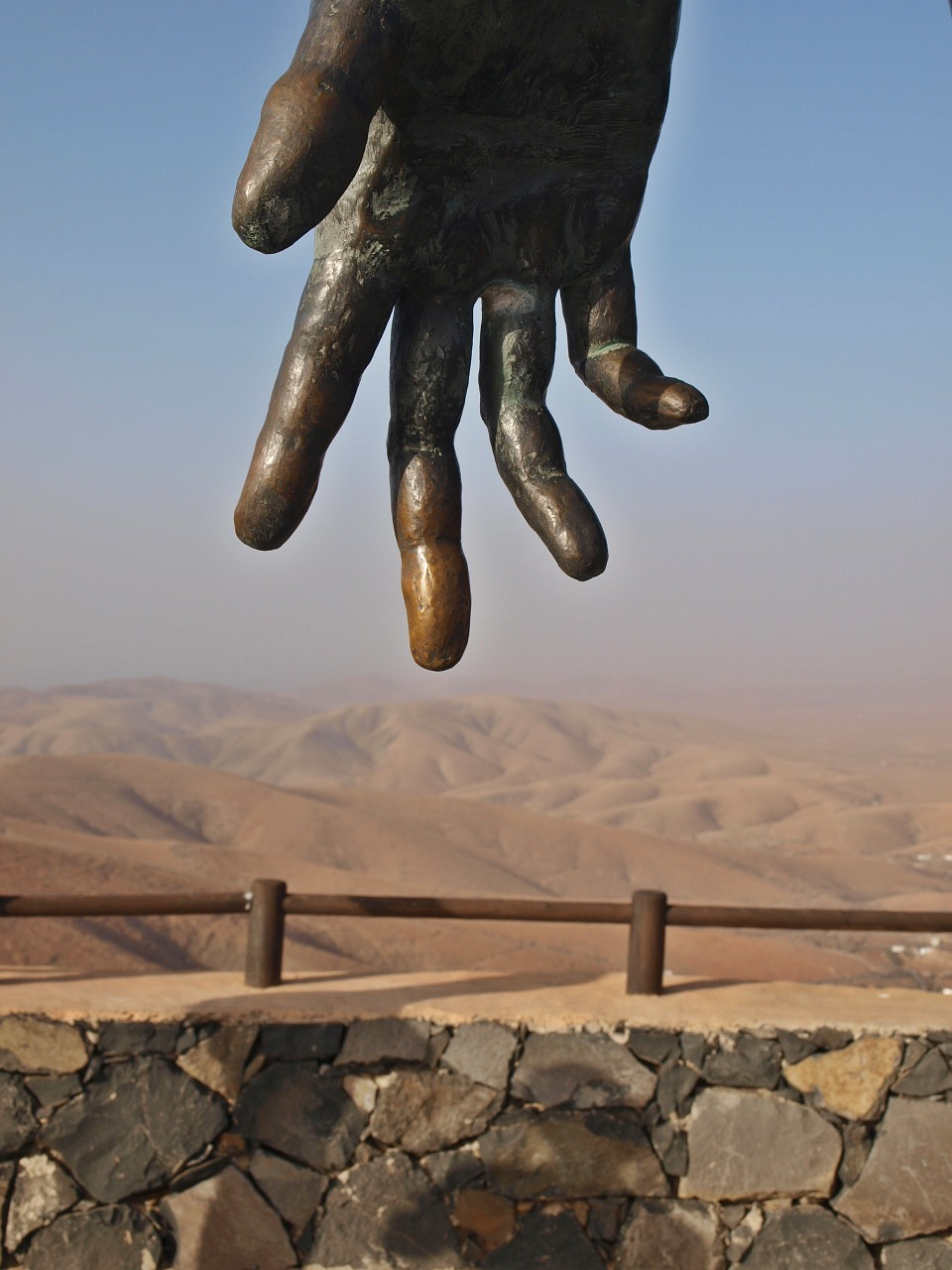 hand fuerteventura canary island free photo
