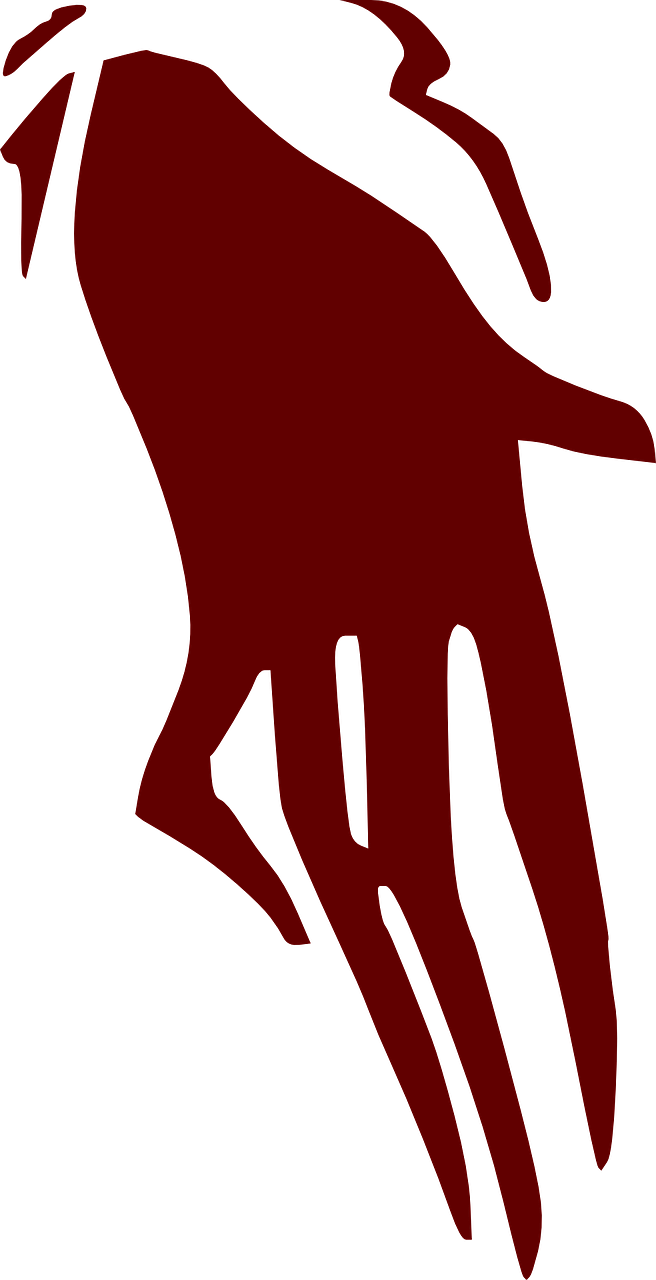 hand,horror,ghost,scary,scared,fear,frightened,satan,ghosts,devilish,satanic,free vector graphics,free pictures, free photos, free images, royalty free, free illustrations, public domain