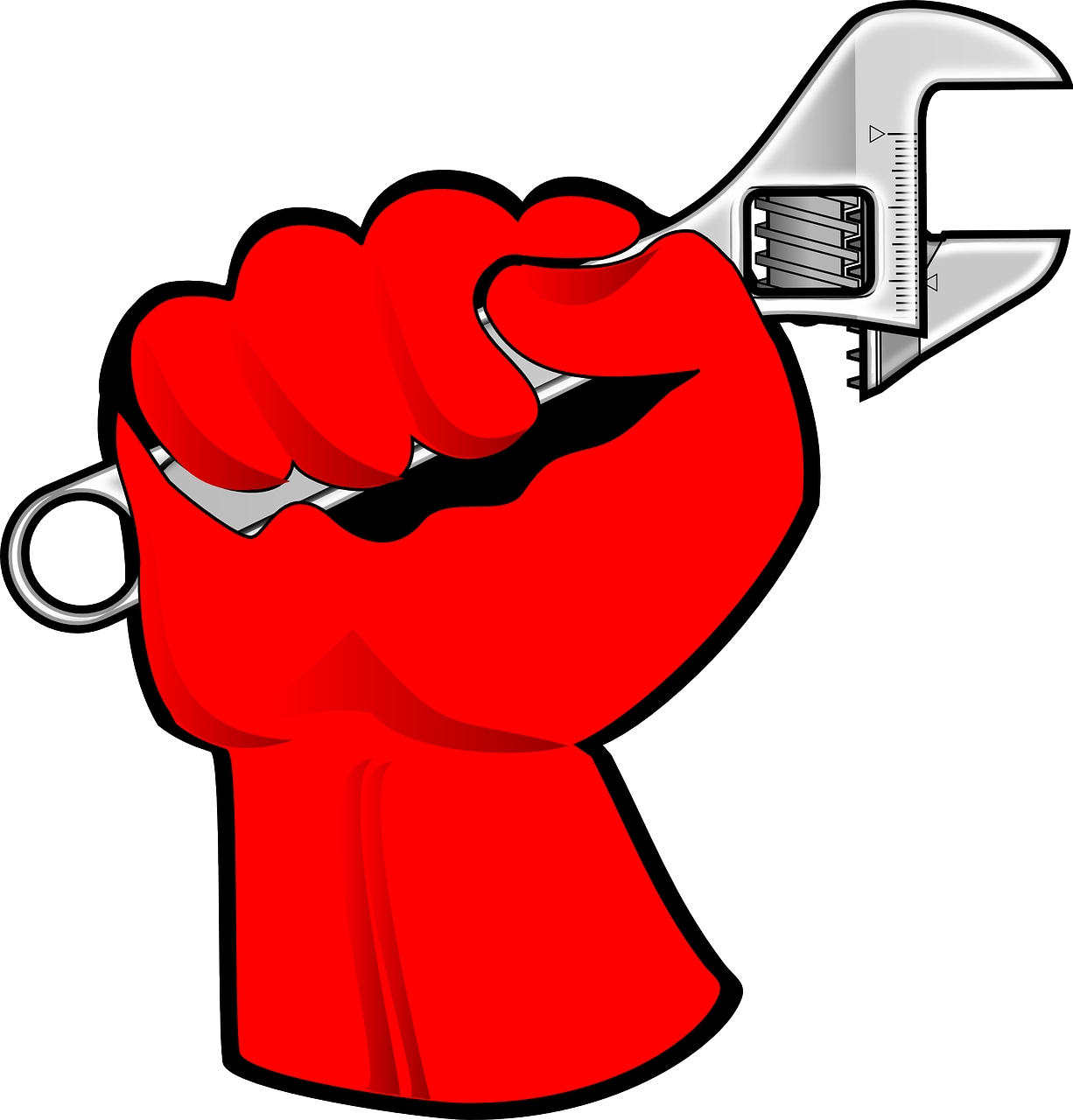 hand fist wrench free photo