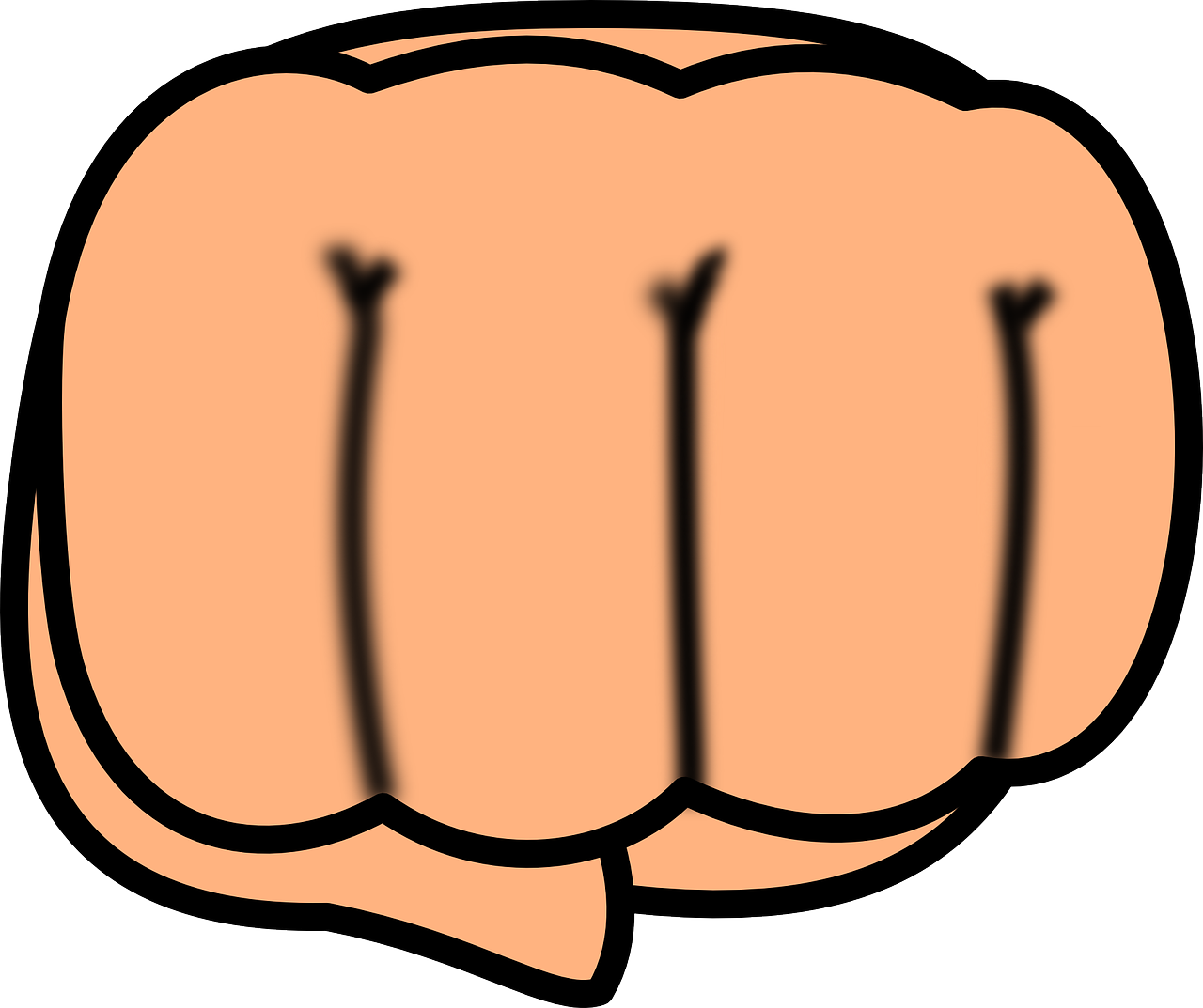 hand fist punch free photo