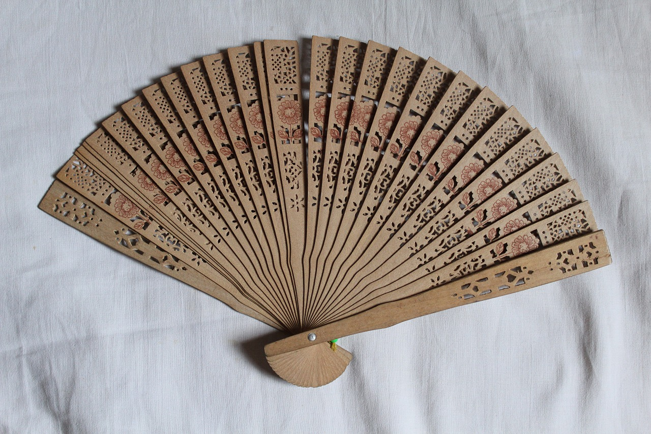 hand fan chinese japanese free photo