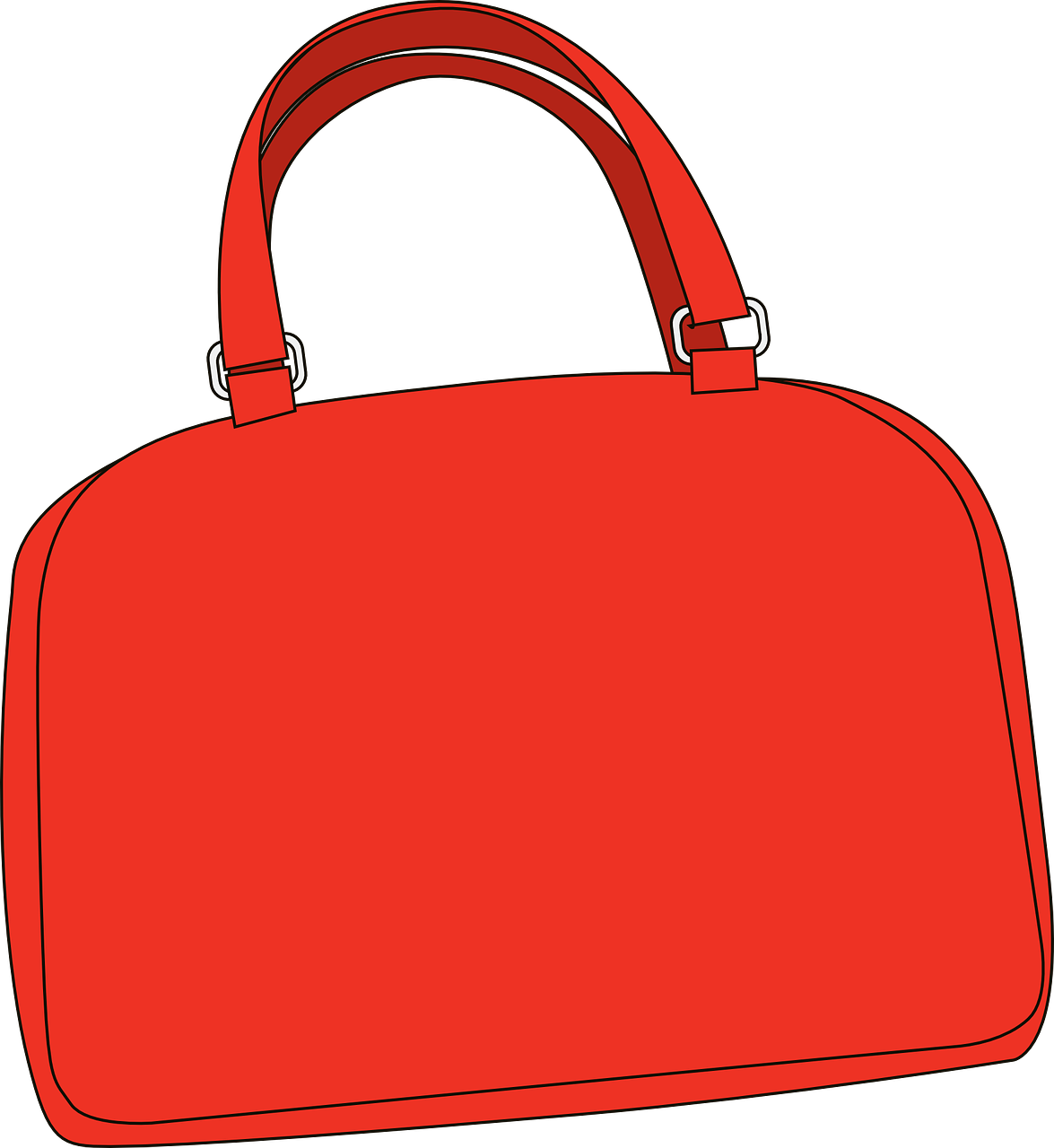 handbag purse red free photo