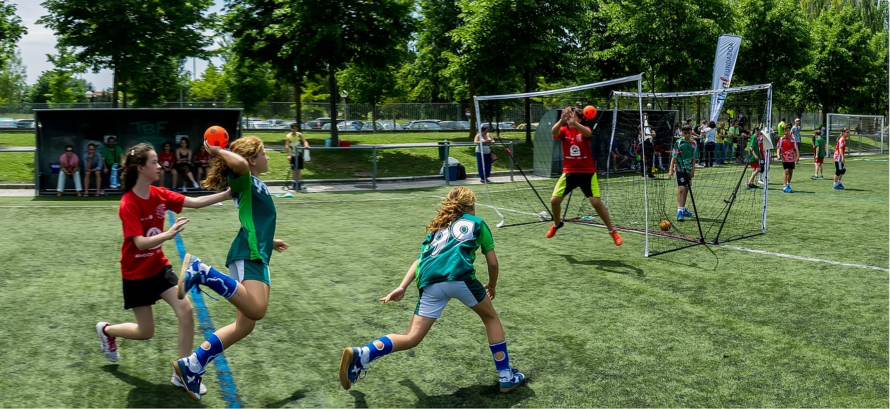 handball sport child sport free photo