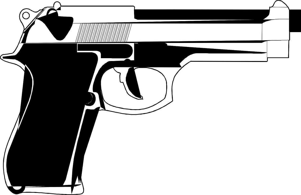 handgun pistol weapon free photo