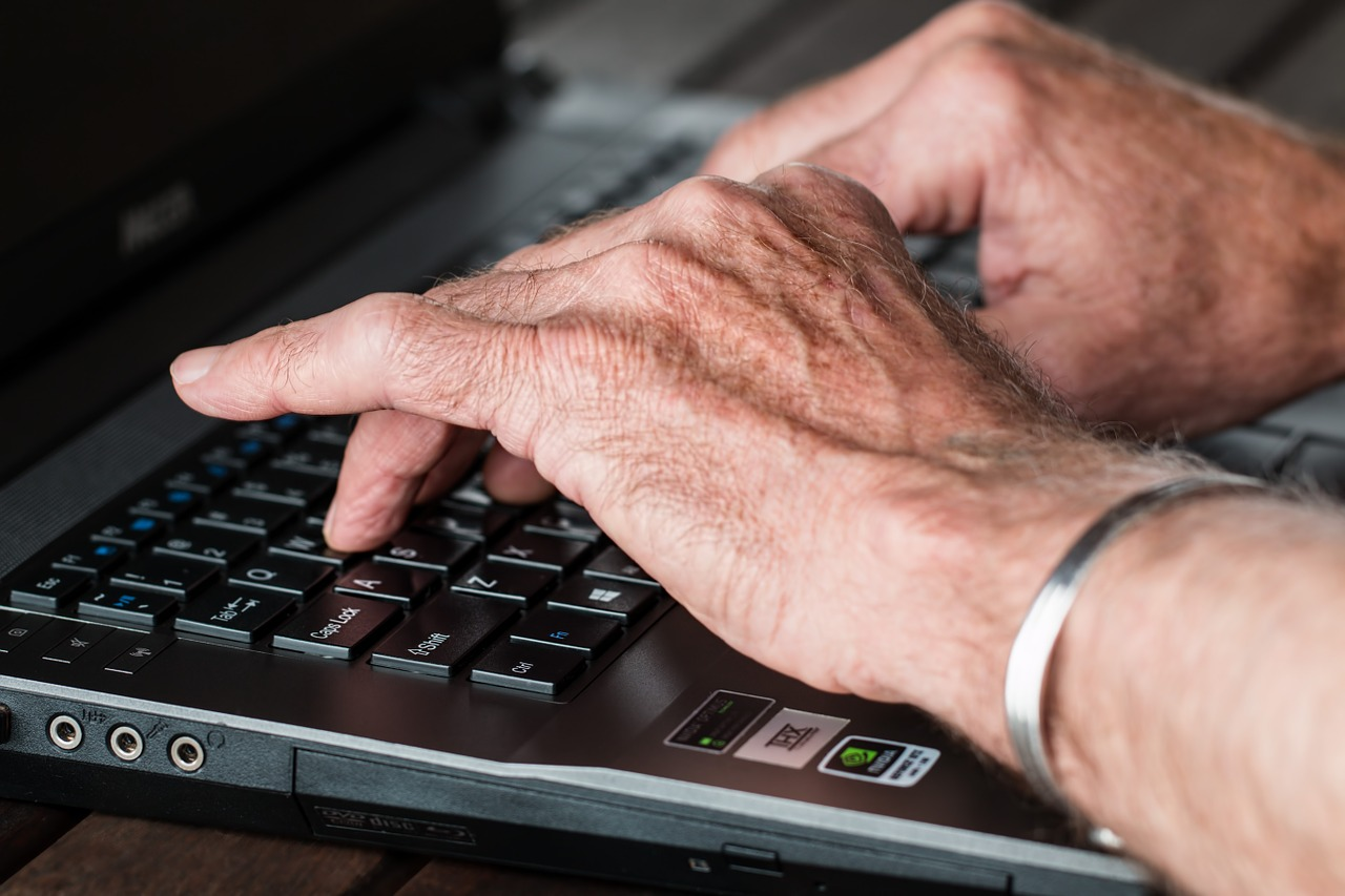 Download free photo of Hands,old,typing,laptop,internet - from needpix.com
