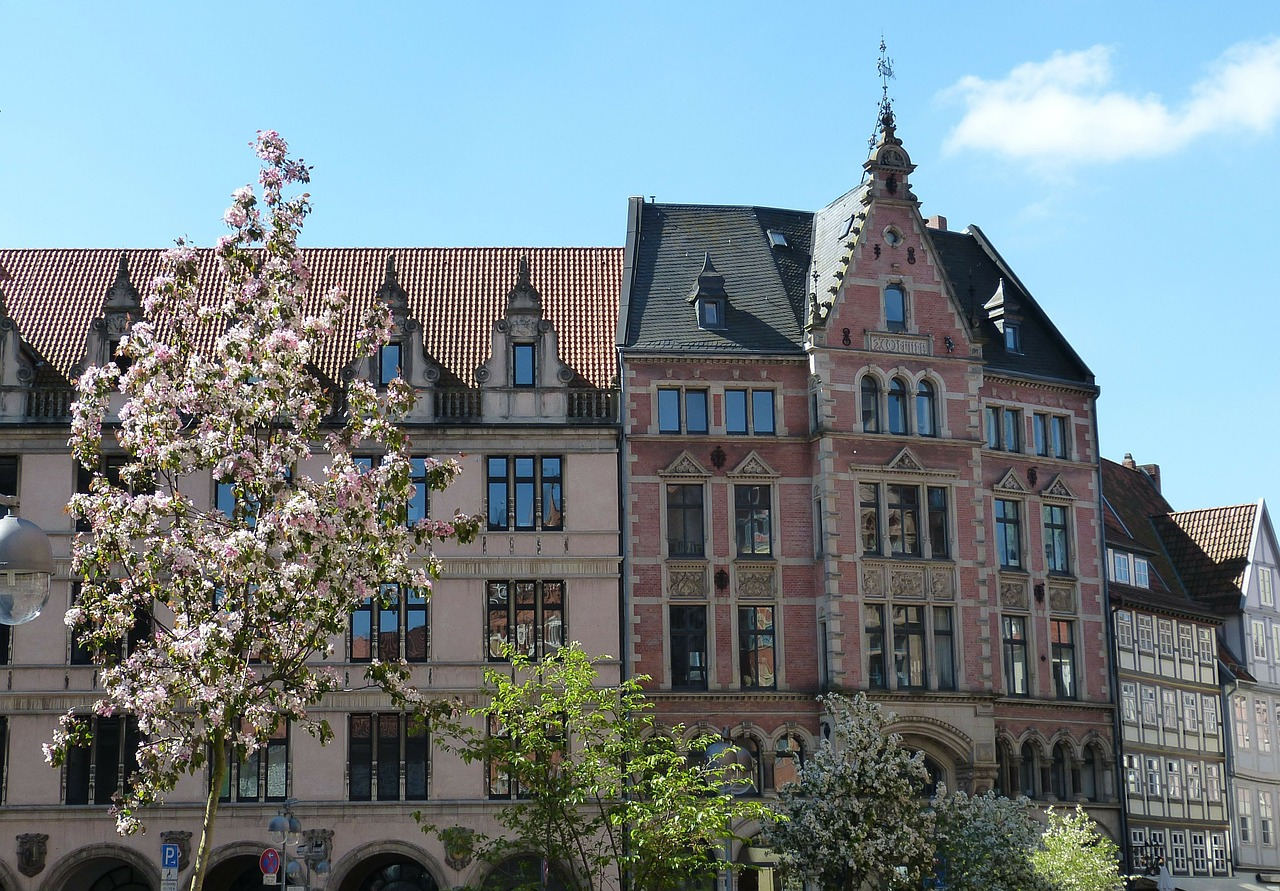 hanover old town lower saxony free photo
