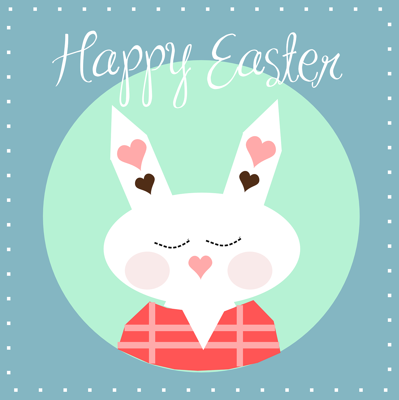 happy easter bunny free photo