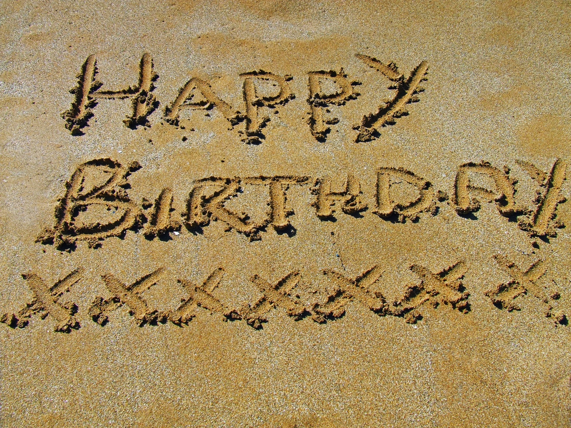 Beach Birthday Dreaming Free Picture