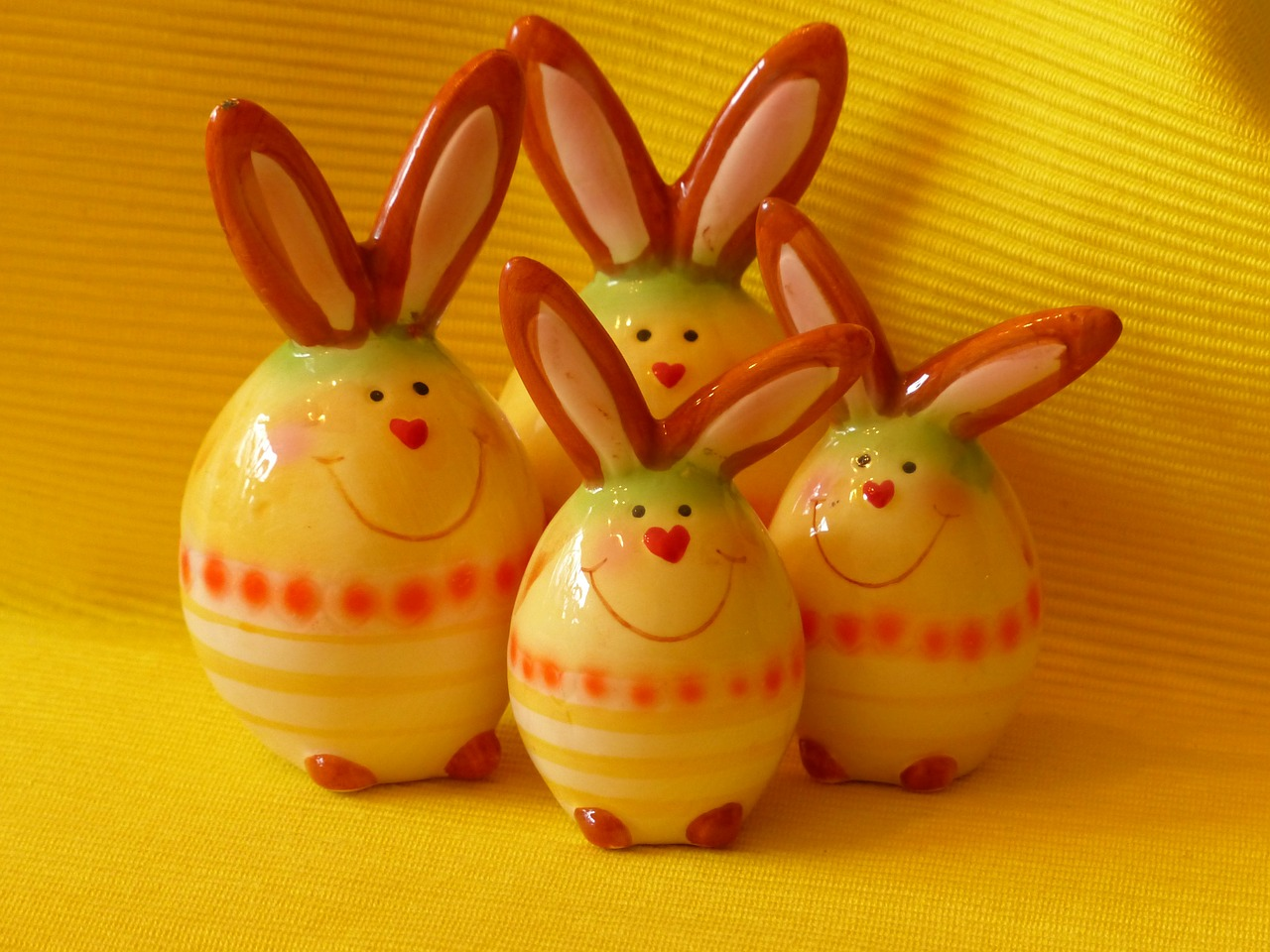 hare easter bunny figure free photo
