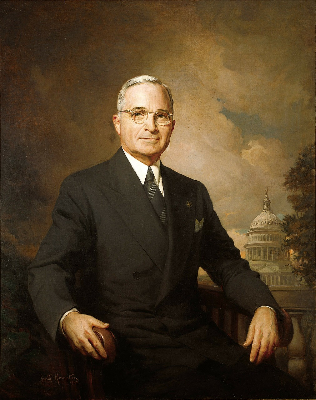 harry s truman president usa free photo