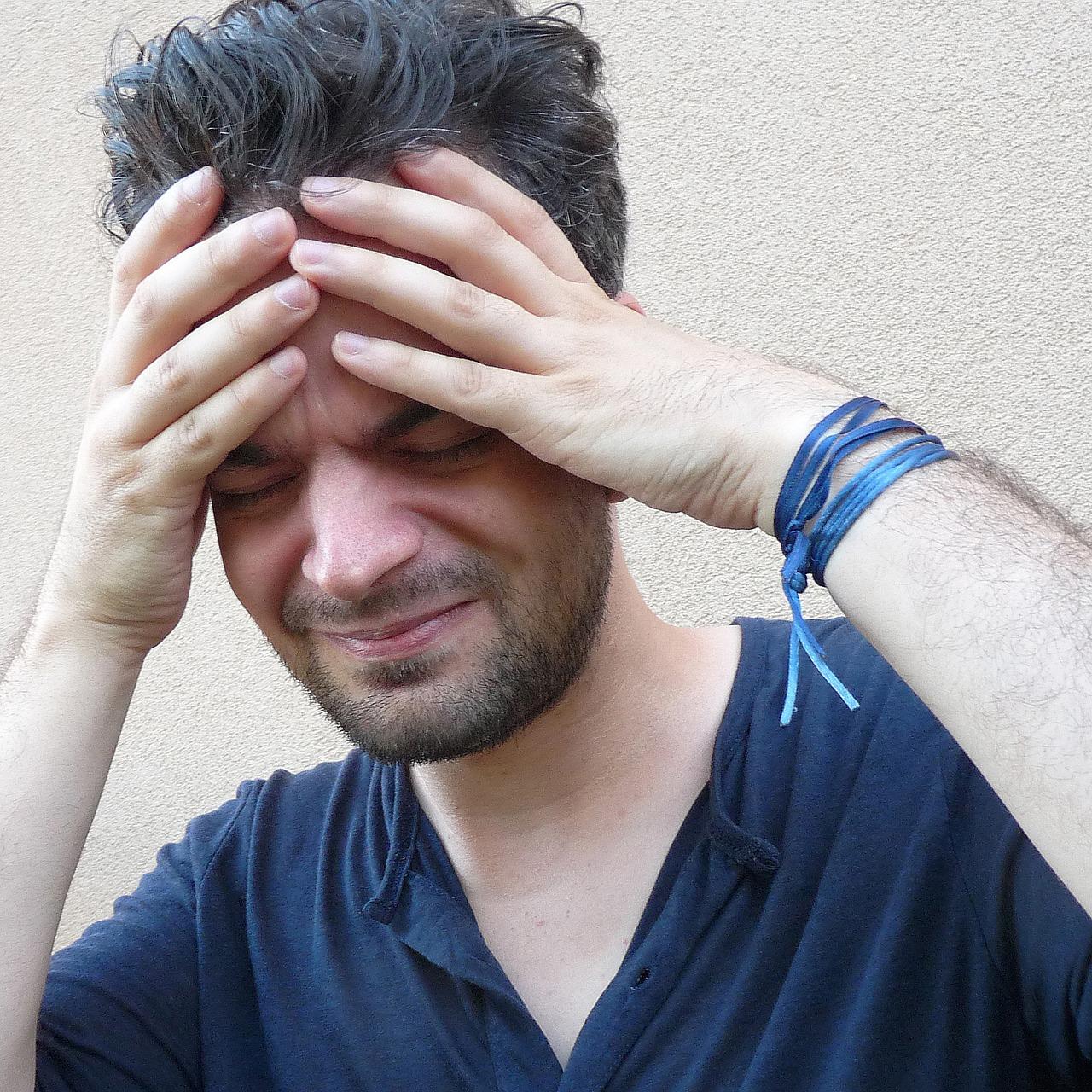 Download Free Photo Of Headache Image Man Stress Stressed Man From Needpix Com