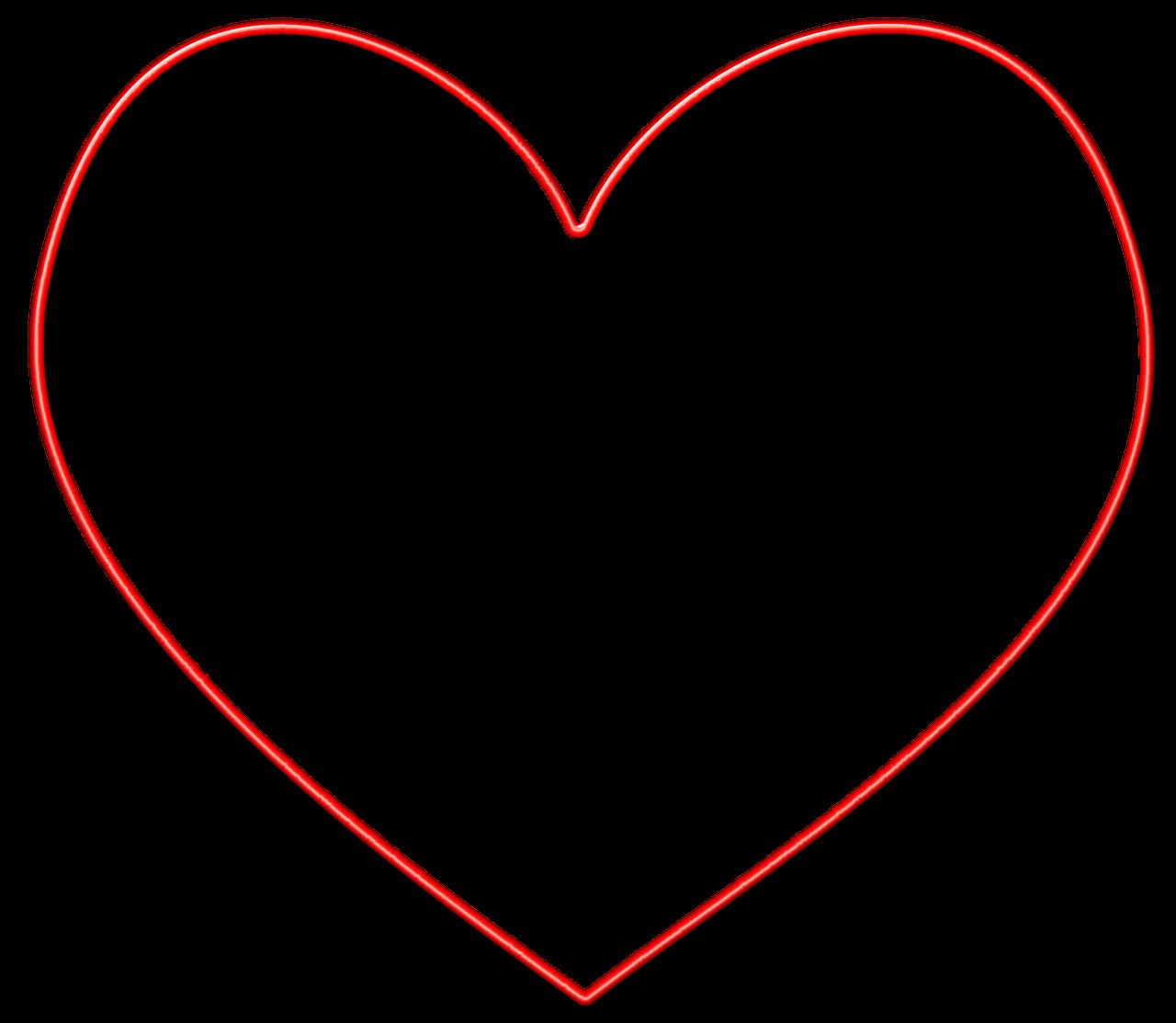 imagen de corazon - HD1280×1113