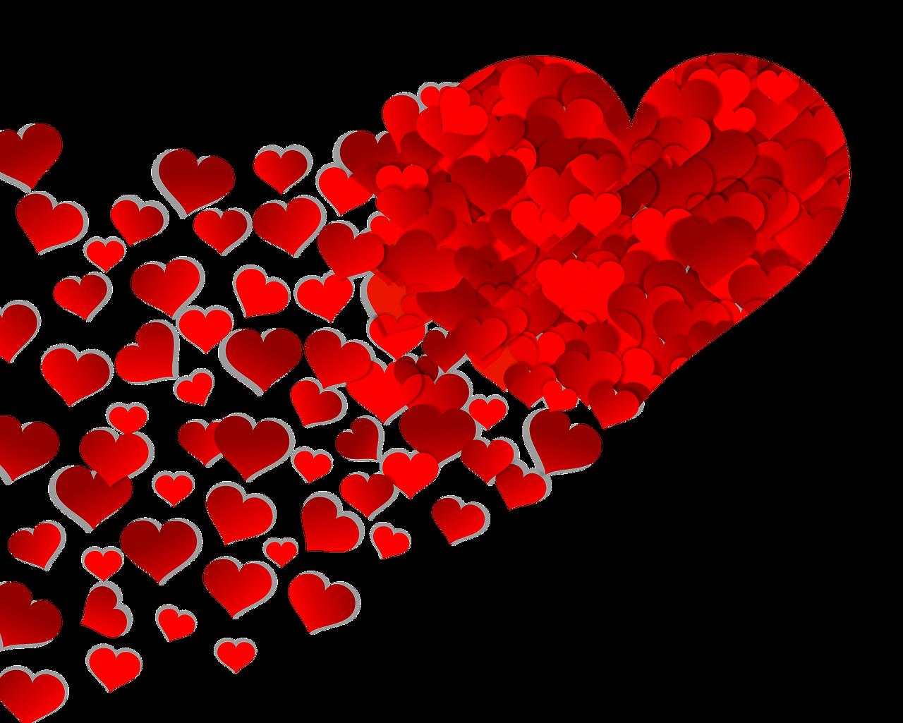 Картинки красное сердце