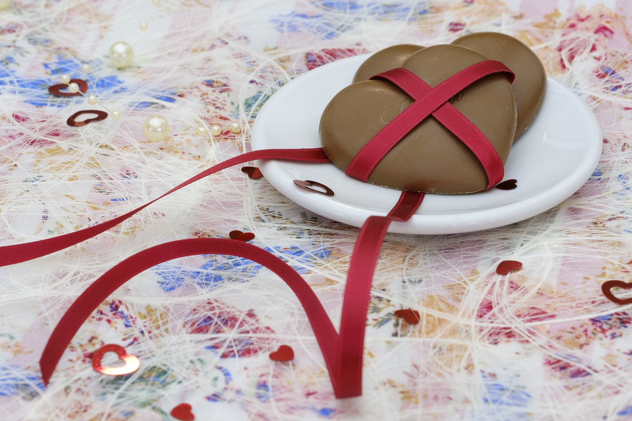 heart chocolate love free photo