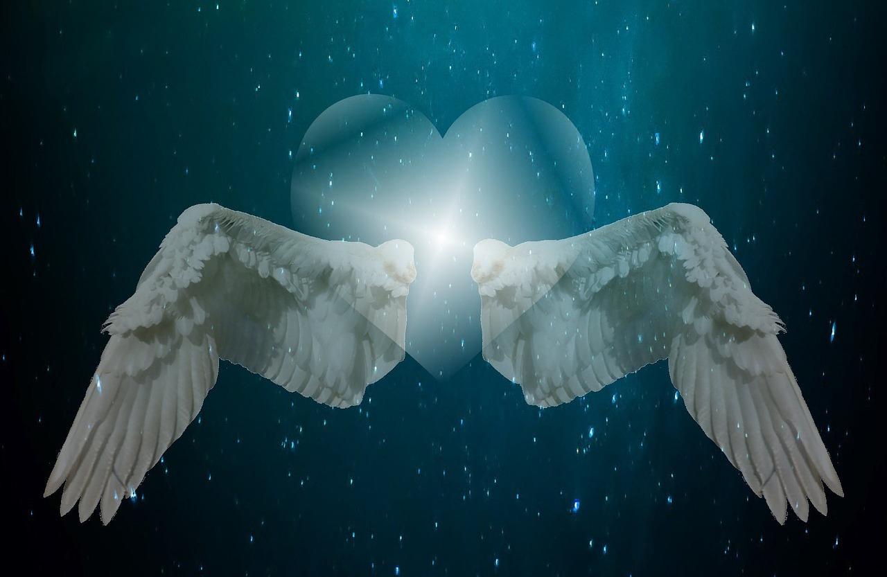 картинка крылья ангела в небе этой ягоды