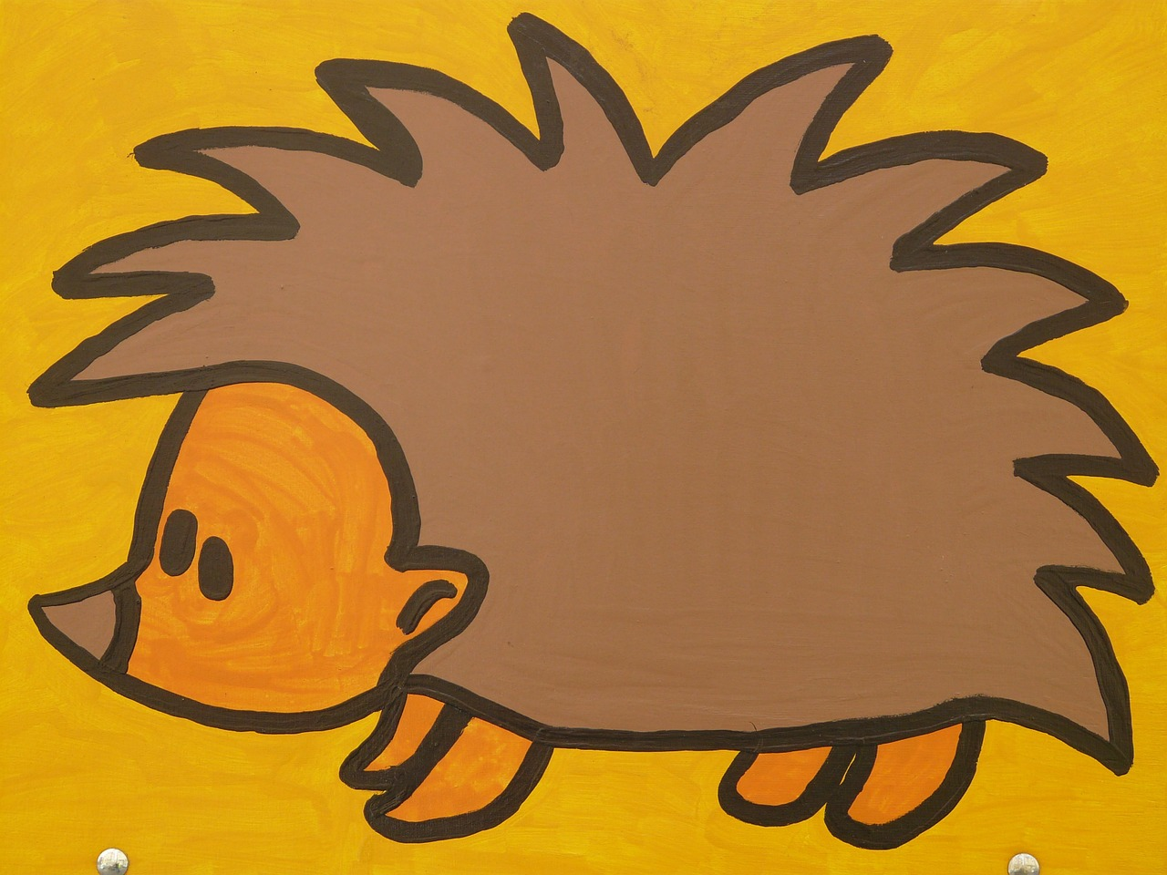 hedgehog cartoon character drawing free photo