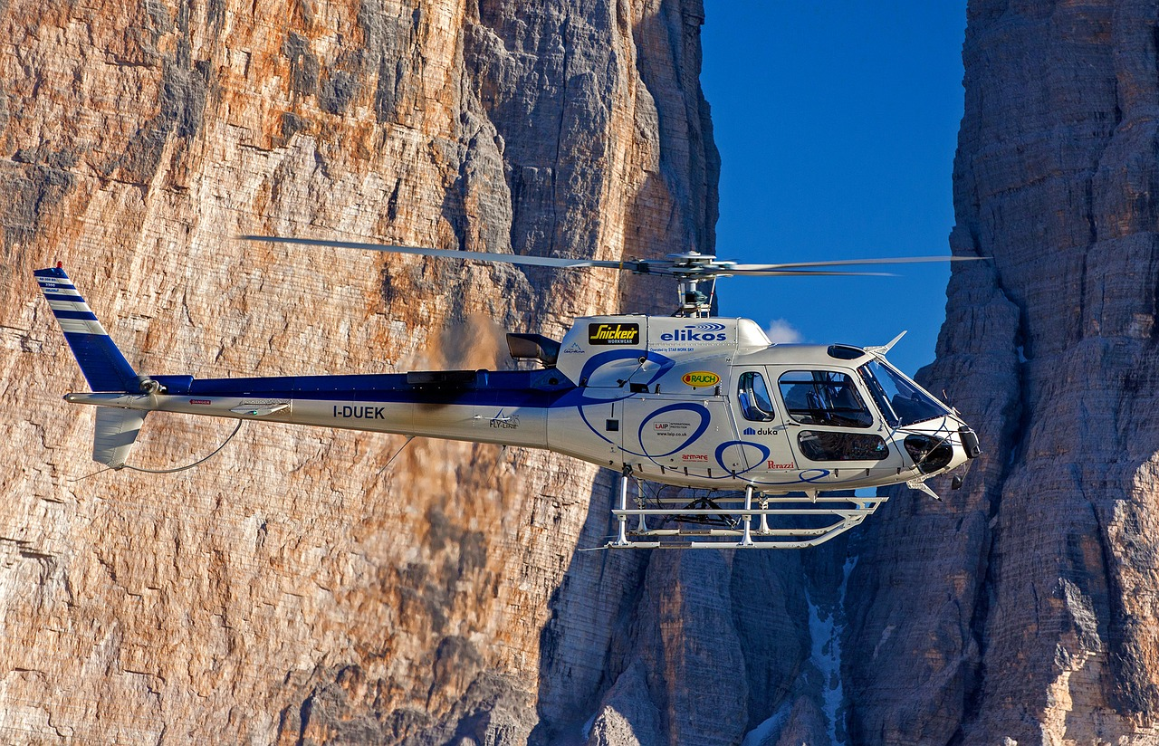 helicopter elikos south tyrol free photo