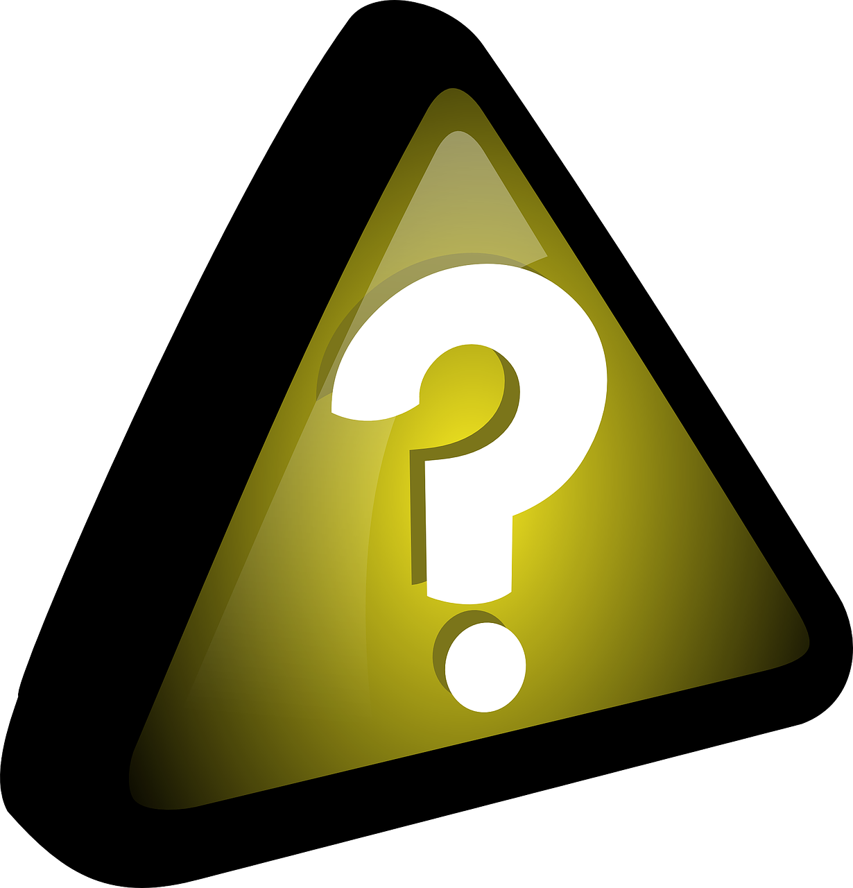 help,info,support,sign,triangle,question mark,icon,query,yellow,punctuation,symbol,question,free vector graphics,free pictures, free photos, free images, royalty free, free illustrations, public domain